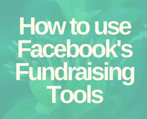 Online Fundraising Strategy Facebook Fundraising